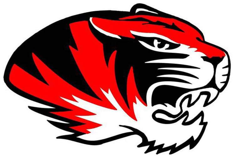 mshsaa caruthersville middle school school information rh mshsaa org Tiger Paw Football Logo college football tiger logos