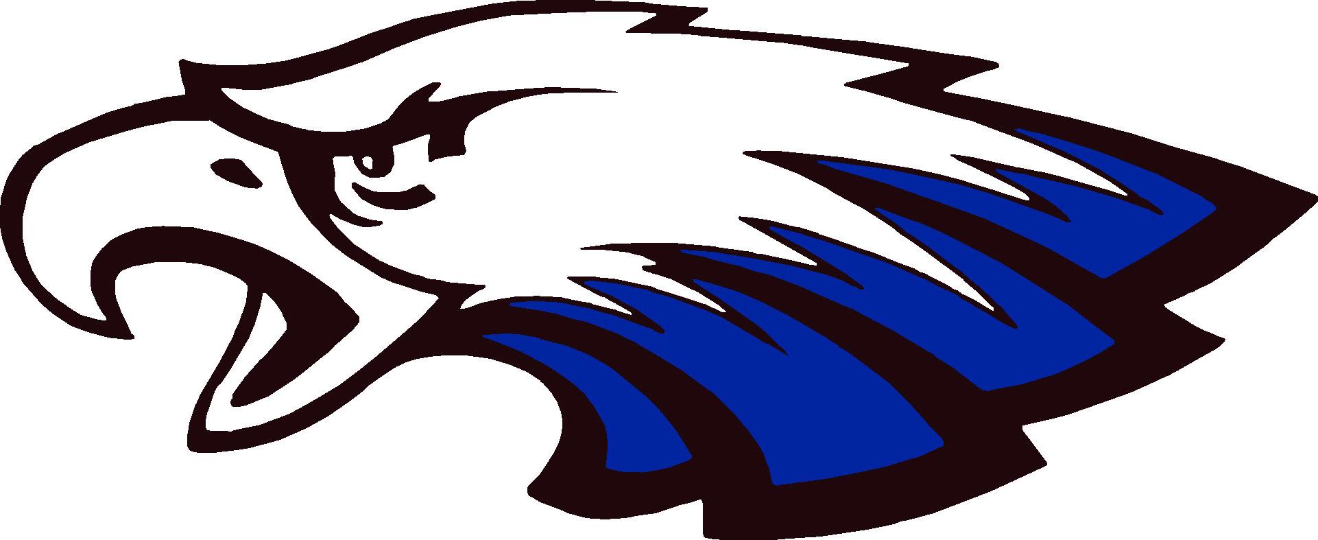 Eagle Football Logo Girls' nickname: eagles Eagle Football Logo