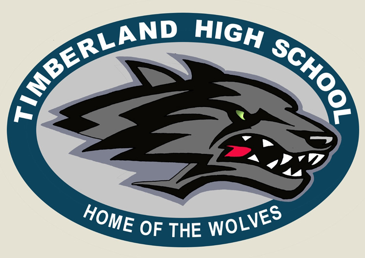 High School Wolves Timberland High School