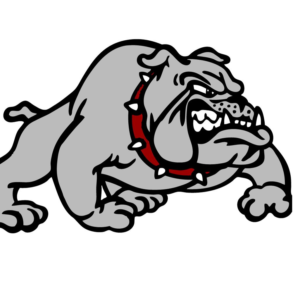 bulldog football logo